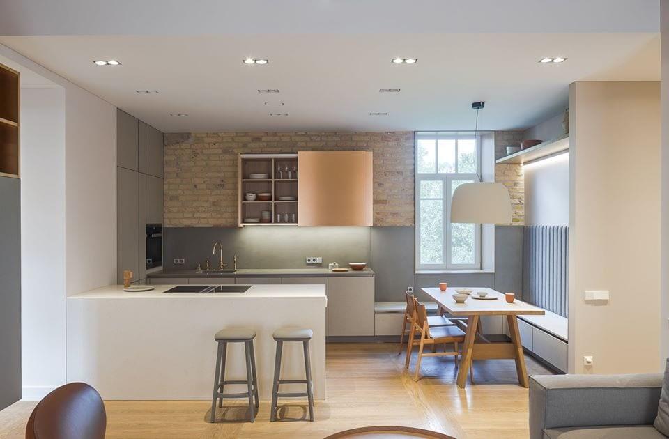 Betono virtuve