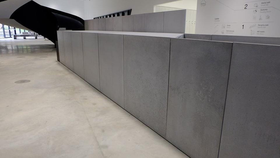 betono fasadai